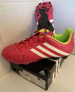Adidas Predito LZ TRX FG Girls soccer cleats F32564 Berry/White size 6