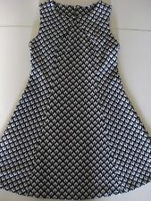Ladies grey herringbone pinafore dress size 12 Red Herring excellent condition