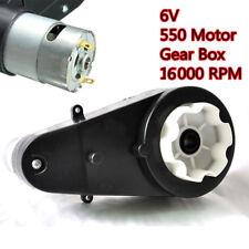 6V 18000 Rpm Gear avec Moteur pour Véhicule Enfant Voiture Électrique Neuve