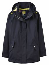 Joules Patternless Zip Hip Length Coats & Jackets for Women