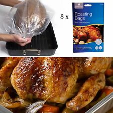 LARGE ~30ROASTING BAGS~ Oven & microw Safe Turkey/Chicken/Beef/Casserole