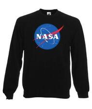 FELPA GIROCOLLO NASA LUNA MOON AMERICAN ASTRONAUT IDEA REGALO