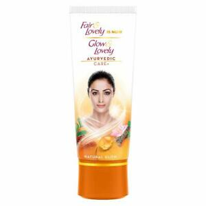 Glow & Lovely Natural Face Cream Ayurvedic Care+, 50 g ,(Pack of 2)