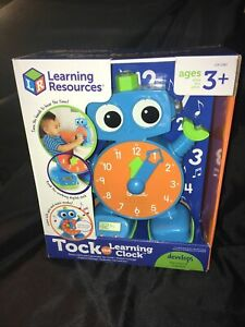 Learning Resources Tock The Learning Clock, Educational Talking & Teaching Clock