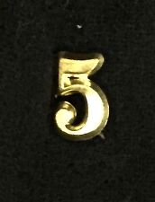 "Civil War - Indian Wars, Brass Number ""5"" for Forage Cap or Kepi, Reproduction"