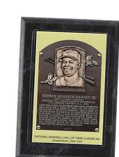 aa4f69194f ken griffey jr junior postcard plaque wood wooden hof hall of fame wall  hanging