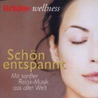 BRIGITTE WELLNESS - SCHÖN ENTSPANNT CD 12 TRACKS CLASSIC ORCHESTRA NEW