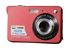 18MP 2.7inch Mini Digital Camera with 8X Digital Zoom - Red