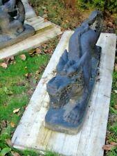 statue de dragon en pierre patiné grand modèle ...