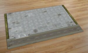 1/87 scale / HO Parking Scene Layout / Diorama sheet. A1 200GSM.