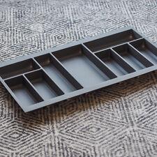 Grey Textured Cutlery Tray for 900mm Grass Scala Drawer | Kitchen Storage