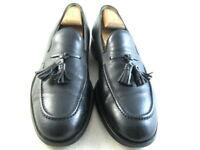 "Allen Edmonds ""PERUGIA"" Italian Tassel Loafers 8.5 D  Black   (38)"