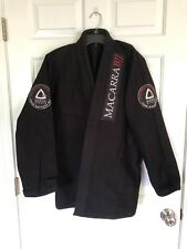 Gracie Sports Adult Gi, Black, Size A-2, White Belt Included