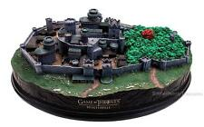 """GAME OF THRONES Licensed 14"""" Deluxe House STARK WINTERFELL Castle STATUE LE 1500"""