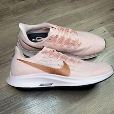 Nike Air Zoom Pegasus 36 Sparkle Running Shoes Echo Pink Metallic Womens Size 9