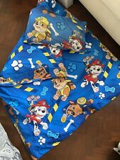 Blue Paw Patrol Duvet Set With Pillow And Quilt (small)