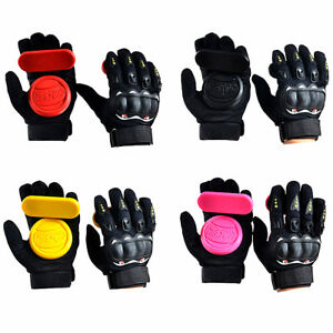 Longboard Skateboard Protect Brake Glove Downhill Slide Drift Dancing Gloves