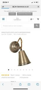 Industrial style Jim Lawrence wall light