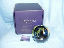 Caithness Paperweight Moon Landing 50th Anniversary Brand New Boxed U19077