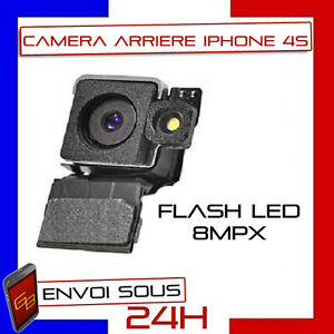 MODULE CAMERA APPAREIL PHOTO ARRIERE FLASH LED 8MPX POUR IPHONE 4S