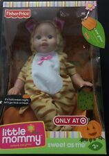 FISHER PRICE LITTLE MOMMY SWEET AS ME HALLOWEEN-TIGER OUTFIT-RARE