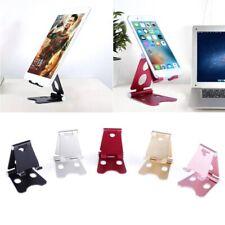 Aluminum Universal Adjustable Foldable Cell Phone Tablet Desk Stand Mount Holder