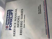 Nissan Forklift Service Manual Model H01/H02
