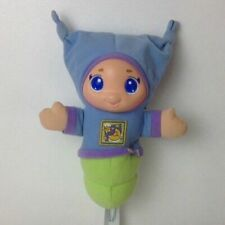Vintage Playskool Blue Lullaby Glow Worm Night Light 2005 Great Used Condition