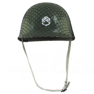 Army Helmet Childs Plastic Green Costume Accessory Hat