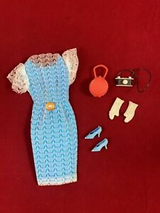 Altes Vintage Petra Plasty Barbie Clone Outfit ROMA #17
