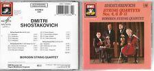 Shostakovich String Quartets Nos. 4, 6 & 11 Borodin SQ Melodiya/EMI CD Album