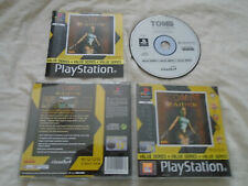 Tomb Raider 1 original PS1 (COMPLETE) Sony PlayStation rare Lara Croft