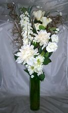 Artificial Magnolia Bouquet CREAM/GREEN Conservatory Lounge, for your own vase
