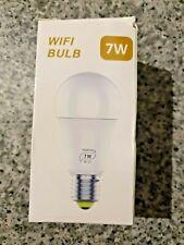 7W WIFI Smart LED Light Bulb Dimmable APP Control E27 for Alexa Google Home