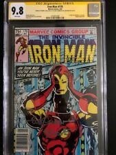 Iron Man 170 CGC 9.8 SSx3 1st Rhodey - Iron Man  Canadian Variant single Highest