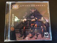 Quake III Arena - ( Sega Dreamcast ) Complete W/box & Manual !