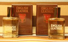 2Pc LOT-ENGLISH LEATHER By Dana .5oz/15ml Eau De Cologne SPLASH Mini (NIB)