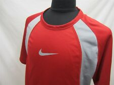 Nike Performance Short Sleeve Red/Gray Jersey Size L Mens 220