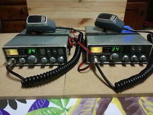 N. 2 Ricetrasm. MIDLAND - modello ALAN 68 s - CB 34 canali - AM/FM - 27 Mhz