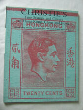 Spink Stamp Auction Catalogue -Fine Stamps Hong Kong China & Japan- Nov 1996