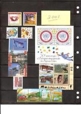2001 Year Set United Nations - Geneva