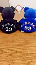 NHL WAYNE GRETZKY #99 OILERS / KINGS LOT OF 2 SALINOS BAMMERS BEAN BAG BEARS