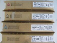 Original Ricoh Toner Set SP C430E 821204 - 821207 für Aficio SP C430 Serie