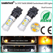 Switchback Bulb 3157 LED Turn Signal Light Dual Color Tail Light for Ford F-150