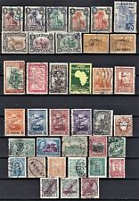 Portugal small collection of old used stamps