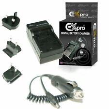 Battery Charger D-Li63 DLi63 Pentax Optio RS1000 RS1500 T30 M30 M40 V10 V15 W30