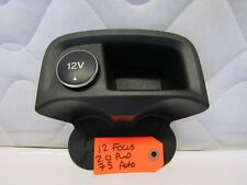 12 13 14 Ford Focus Cup Holder With 12V Power Switch OEM