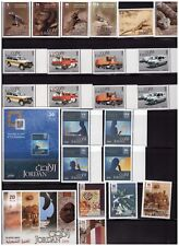 Jordan Stamps collections, 2006-2007-2009 / 7 Sets and 3 sheets, MNH, High CV.