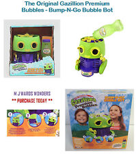 The Original Gazillion Premium Bubbles - Bump-N-Go Bubble Bot