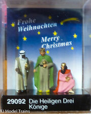 Preiser Ho #29092 The Three Wise Men (Plastic) 1:87th Scale